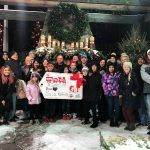 sela roofing raises money for toys for tots Minneapolis